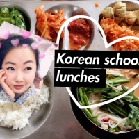 What I eat at lunch time!         (Korean public school lunches)