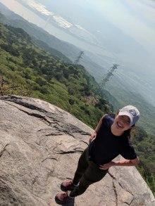 hiking julie 1