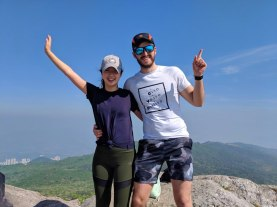 hiking julie and ben